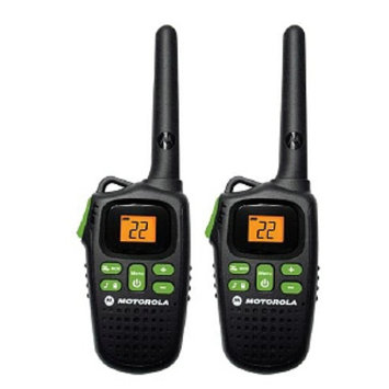 Giant Motorola MD200R FRS Two-Way Radio Pair
