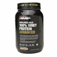 Gnc Pro Performance Amp GNC Pro Performance AMP Amplified Gold 100% Whey Protein Advanced, Cookies N Cream, 2.05 lbs