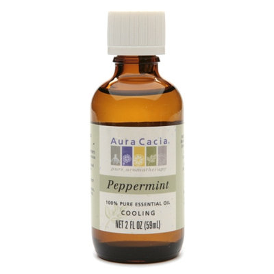 Aura Cacia Pure Essential Oil Cooling Peppermint