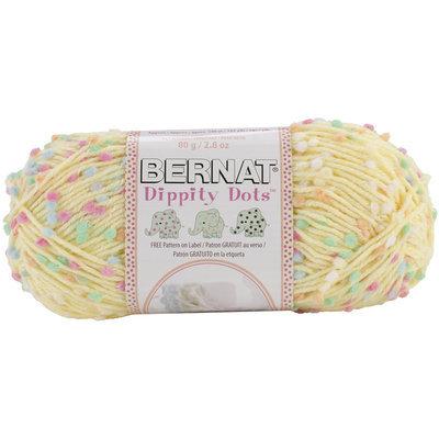 Dummy Spinrite Dippity Dots Yarn Yellow
