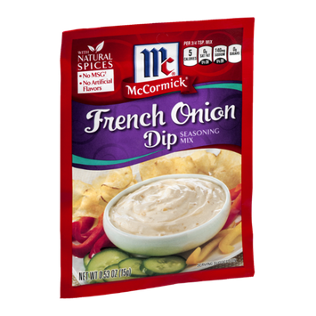McCormick Seasoning Mix French Onion Dip