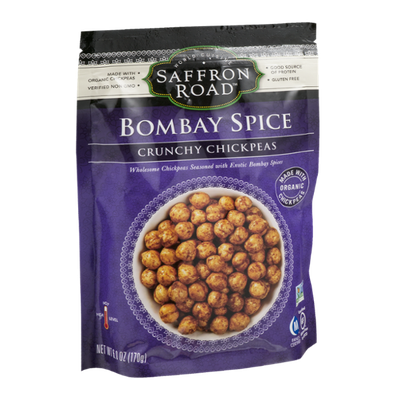 Saffron Road Crunchy Chickpeas Bombay Spice