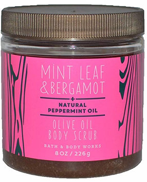 Bath & Body Works® Mint Leaf & Bergamot Olive Oil Body Scrub