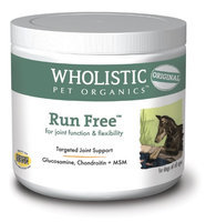 Wholistic Pet Run Free 8oz Organic Joint Care