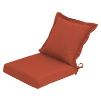 Threshold Outdoor Pillow Back Dining Cushion - Coral