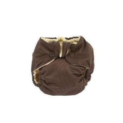 Kissaluvs Kissa's Newborn All-In-One Diaper, Chocolate