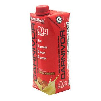 Muscle Meds Carnivor RTD Vanilla Caramel - 12 (500mL) bottles