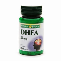 Nature's Bounty DHEA 25mg tablets 100ct