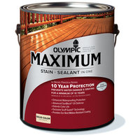 Olympic Maximum Tintable Multiple Solid Exterior Stain (Actual Net Contents: 120-fl oz) 79601A/01