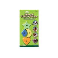Ware Mineral Charm Chews Small Pet Treat, Pack of 4