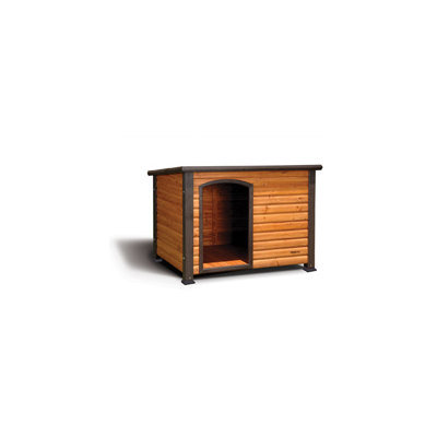 Precision Pet Outback Log Cabin Dog House