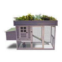 Precision Pet Products Precision Pet Garden Top Chicken Coop, 78 L X 32 W X 47 H