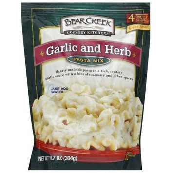 Bear Creek Bear Greek Country Kitchens Garlic and Herb Pasta Mix, 10.7 oz, (Pack of 6)