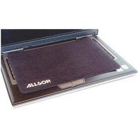 Allsop 29592 Travel Notebook Optical Mouse Pad- Nonskid Back- 13 x 9- Black