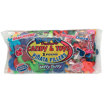 Unique 4605 Assorted Candy and Toys Pinata Filler 1 Pound