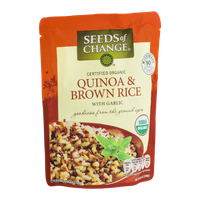 Seeds Of Change Quiona & Brown Rice With Garlic