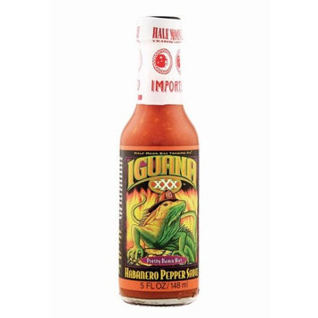 Iguana XXX Habanero Pepper Sauce - 5 oz