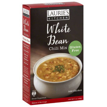 Laurie's Kitchen Lauries Kitchen White Bean Chili Mix, 7 oz, (Pack of 6)