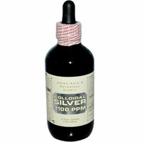 Amino Acid and Botanical Supply Liquid Colloidal Silver 500 ppm 4 fl oz