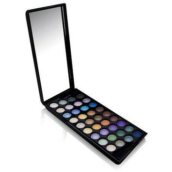 Br Starry U.S.A Boutique 36 Colors Eyeshadow Kit # CC0015