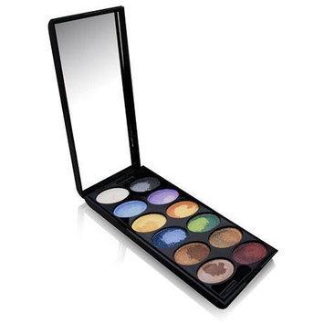 Br Starry U.S.A Boutique 24 Colors Multi Effect - Velvet Touch Eyeshadow Kit # CC0016