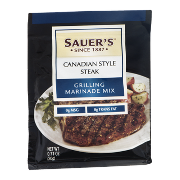 Sauer's Grilling Marinade Mix Canadian Style Steak