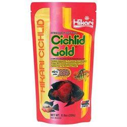 Hikari Sales Cichlid Gold Gold 8. 8 Ounces - 4228