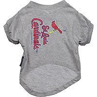 Hunter Manufacturing MLB St. Louis Cardinals Dog Tee Shirt Small