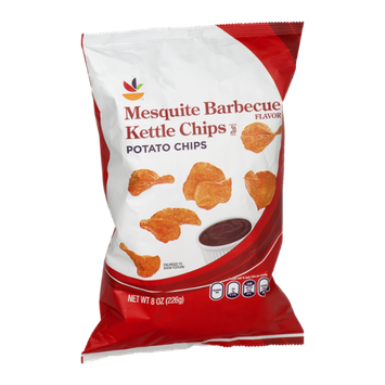 Ahold Kettle Potato Chips Mesquite Barbecue