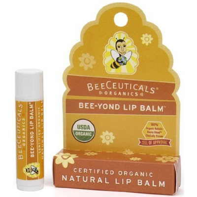 Beeceuticals Organics Bee-Yond Lip Balm Natural 0.15 Ounces