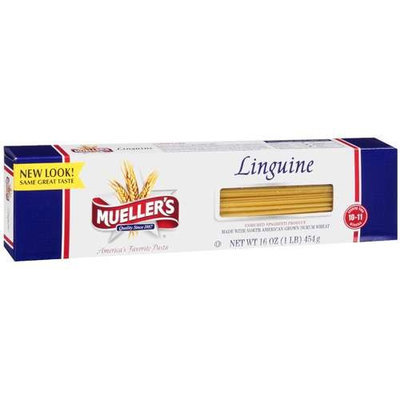 Mueller's Linguine Enriched Spaghetti Product, 16 oz