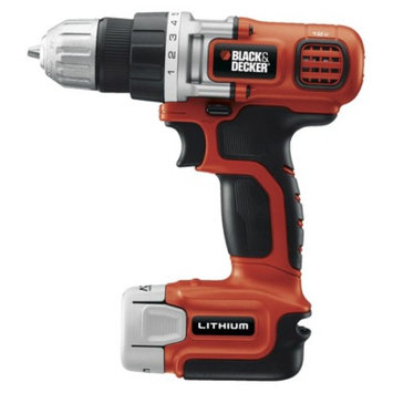 Black & Decker LDX112C 12V MAX Lithium Drill/Driver with Exposed Gear