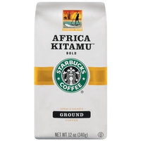 Starbucks Africa Kitamu Coffee, Ground, 12-Ounce Bags (Pack of 3)