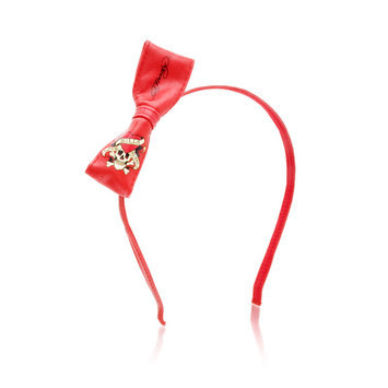 Ed Hardy Love Kills Headband Red Bow