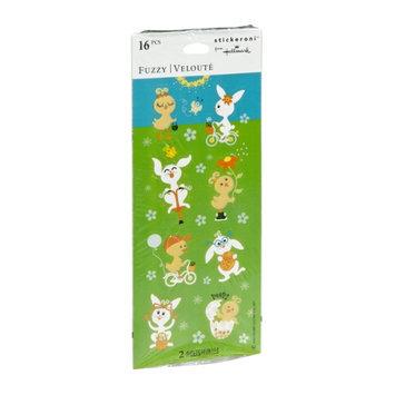 Stickeroni from Hallmark Fuzzy Stickers - 16 CT