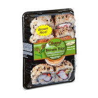 Okami Brown Rice Assorted California Rolls