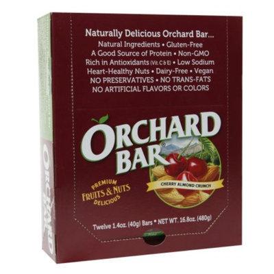 Orchard Bars Fruits & Nuts 12/1.4oz, Cherry Almond Crunch Bar, 16.8 oz