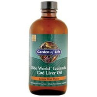 Garden of Life Olde World Cod Liver Oil (Liquid), Lemon Mint