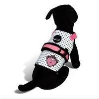 26 Bars & a Band Couture Princess Dog Harness, Large