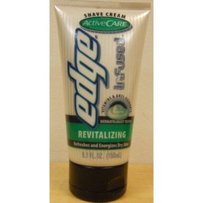 Edge Infused Activecare Shave Cream Revitalizing 5.1 oz.