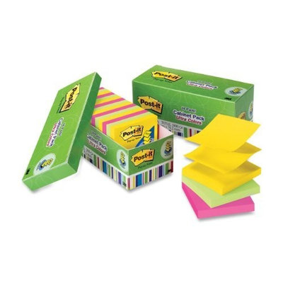 Post It Post-it Pop-up Notes, 3 in x 3 in, Jaipur Collection, 18 Pads/Cabinet Pack (R330-18AUCP)
