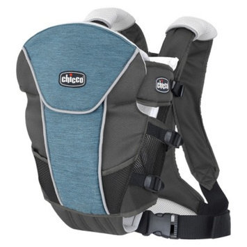 Chicco Ultrasoft LE Baby Carrier - Vapor Gray/Blue