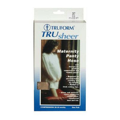 Truform Women's TruSheer Maternity Pantyhose (Firm) 20-30mm Beige
