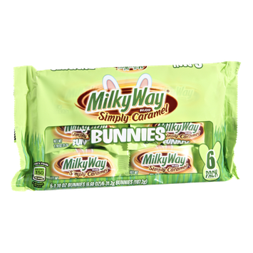 Milky Way Simply Caramel Bunnies - 6 CT