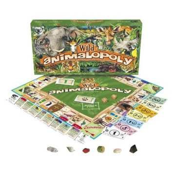 Wild Animal-opoly Monopoly Game Ages 8+