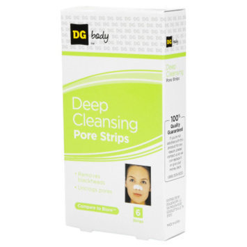 DG Body Deep Cleansing Pore Strips - 6 ct