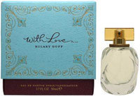 WITH LOVE HILARY DUFF by Hilary Duff EAU DE PARFUM SPRAY 3.3 OZ *TESTE
