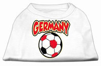 Ahi Germany Soccer Screen Print Shirt White Lg (14)