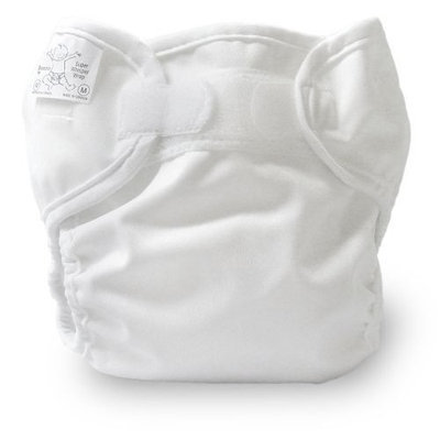 Bummis Super Whisper Wrap, White, 15-30 Pounds (Discontinued by Manufacturer)