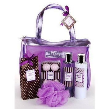 Bain D'espirit Bain D'esprit - Lavender Vanilla Spa Bath and Body Gift Tote